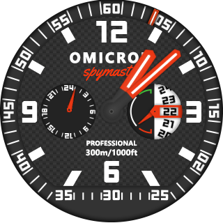 Spymaster Watch face